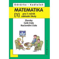 14026 Matematika 7/1. díl - Zlomky, celá čísla, racionální čísla