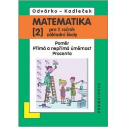 14027 Matematika 7/2. díl - Poměr, přímá a nepřímá úměrnost, procenta