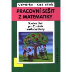 14029 Pracovní sešit z matematiky pro 7. ročník - soubor úloh