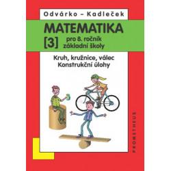 14032 Matematika 8/3. díl - Kruh, kružnice, válec, konstrukční úlohy