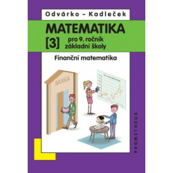 14036 Matematika 9/3. díl - Finanční matematika
