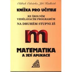 14051 Knížka pro učitele ke ŠVP na 2. stupni ZŠ - Matematika a její aplikace