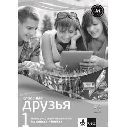 14103 Klassnyje druzja 1 - metodická příručka + CD