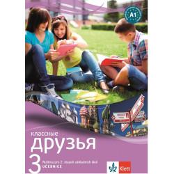 14107 Klassnyje druzja 3 (A1+) – učebnice