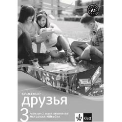 14109 Klassnyje druzja 3 (A1+) – metodická příručka + CD