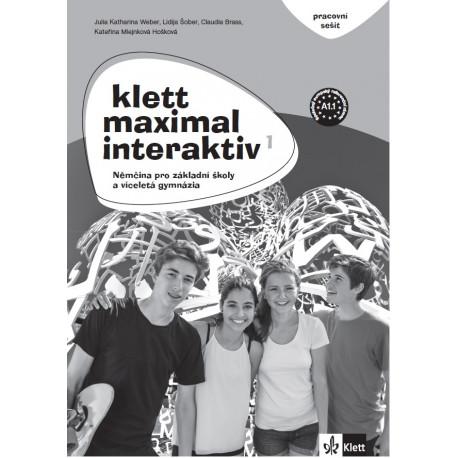 14119 Klett Maximal interaktiv 1 (A1.1) – pracovní sešit (černobílý)
