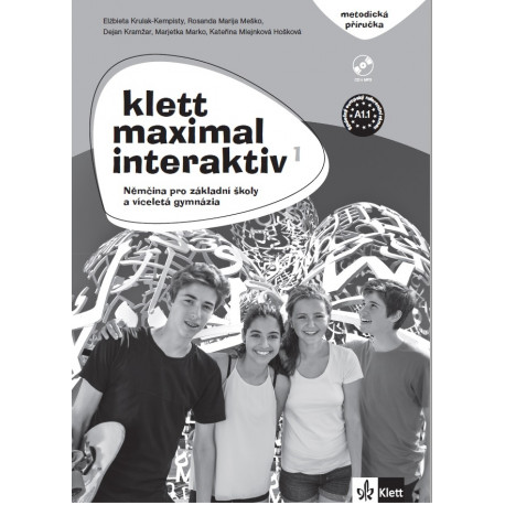 14121 Klett Maximal interaktiv 1 (A1.1) – metodická příručka s DVD