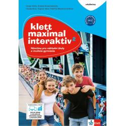 14123 Klett Maximal interaktiv 2 (A1.2) – učebnice