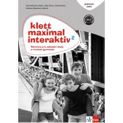 14124 Klett Maximal interaktiv 2 (A1.2) – pracovní sešit (černobílý)