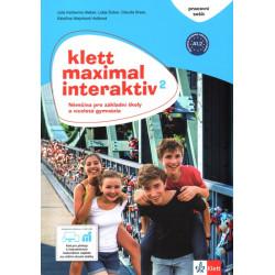 14125 Klett Maximal interaktiv 2 (A1.2) – pracovní sešit s kódem