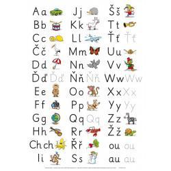 92142 Alter - Nástěnná tabule abeceda - nevázané psací písmo