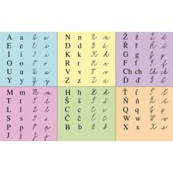92836 Alter - Nástěnná tabule písma podle Slabikáře