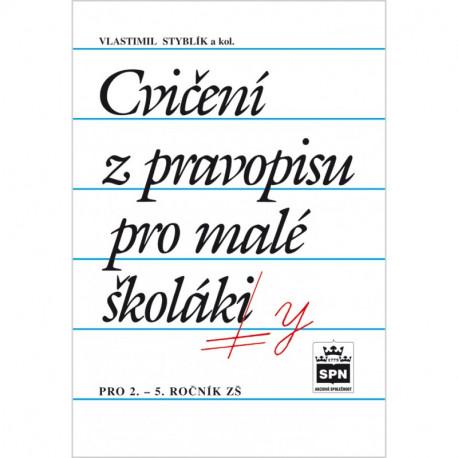 165011 SPN Cvičení z pravopisu pro malé školáky