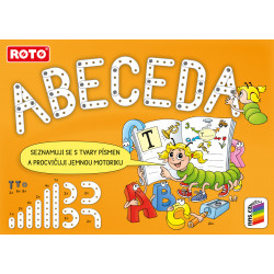 01A17 ROTO ABC ABECEDA v krabičce