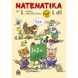 165149 SPN - Matematika pro 1. r. ZŠ, pracovní učebnice (1. díl)