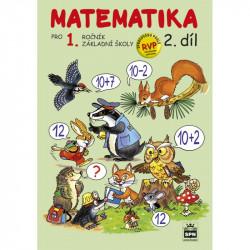 165150 SPN - Matematika pro 1. r. ZŠ, pracovní učebnice (2. díl)