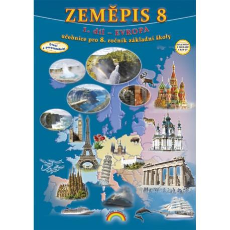88-45 Zeměpis 8 - Evropa 1. díl - učebnice