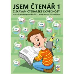 0270 Jsem čtenář 1 - získávám čtenářské dovednosti (barevný, doporučeno pro 2. ročník)