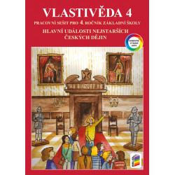 0448 Vlastivěda 4 - Hlavní události nejstarších českých dějin (barevný pracovní sešit)