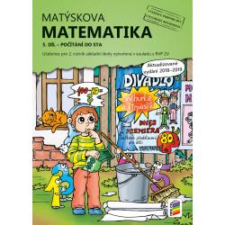 02A36 Matýskova matematika, 2/5. díl – počítání do 100