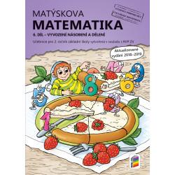 02A37 Matýskova matematika, 6. díl – počítání do 100 (vyvození násobení a dělení)
