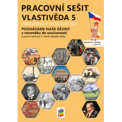 0595 Vlastivěda 5 - Poznáváme naše dějiny - Z novověku do současnosti, barevný pracovní sešit
