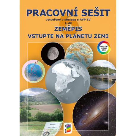 0673 Zeměpis 6, 1. díl - Vstupte na planetu Zemi (barevný pracovní sešit)