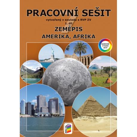 0773 Zeměpis 7, 1. díl - Amerika, Afrika (barevný pracovní sešit)