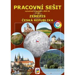 0874 Zeměpis 8, 2. díl - Česká republika (barevný pracovní sešit)
