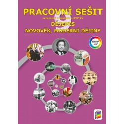 0943 Dějepis 9 - Novověk, moderní dějiny (barevný pracovní sešit)