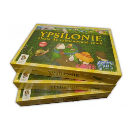 Ypsilonie - základní balíček pro školy (3 x hra)