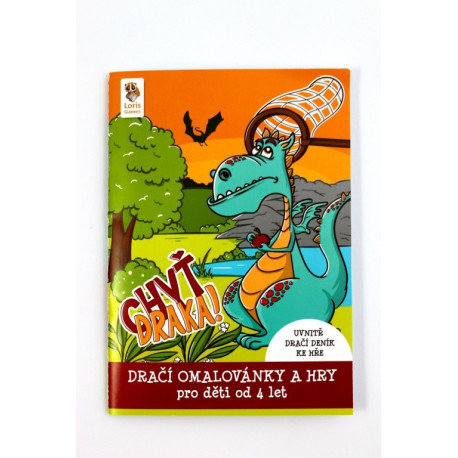Chyť draka - Dračí omalovánky a hry