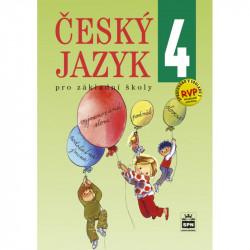 165897 Český jazyk pro 4. r. ZŠ, učebnice