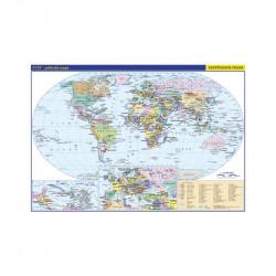 13736 Svět - školní politická nástěnná mapa