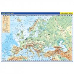 13738 Evropa - nástěnná fyzická mapa