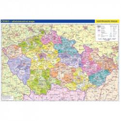 13741 Česká republika - školní administrativní mapa