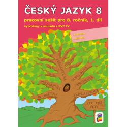 0856 Český jazyk 8, 1. díl (pracovní sešit)