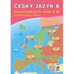 0857 Český jazyk 8, 2. díl (pracovní sešit)