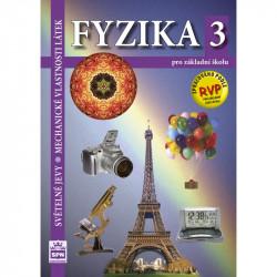 165785 SPN - Fyzika pro ZŠ 3 – Světelné jevy, Mechanické vlastnosti látek, učebnice