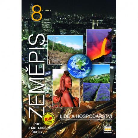 165890 SPN - Zeměpis pro ZŠ 8 – Lidé a hospodářství, učebnice