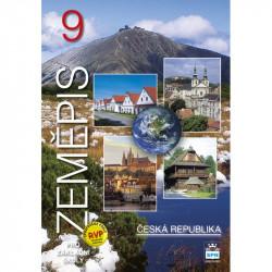 165889 SPN - Zeměpis pro ZŠ 9 – Česká republika, učebnice