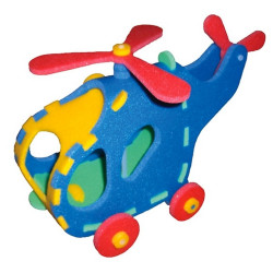 8421 Vrtulník 3D Puzzle