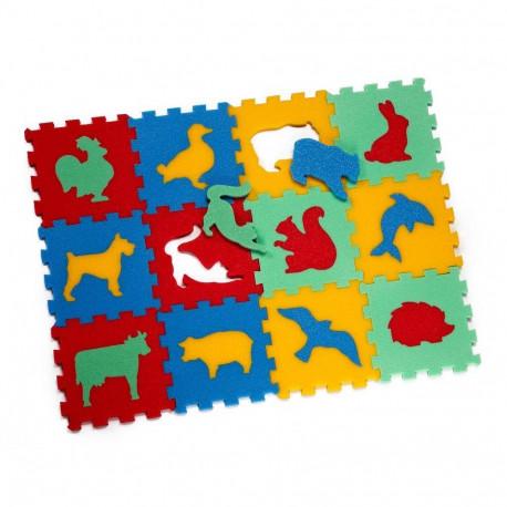 8413 Koberec 12 zvířata