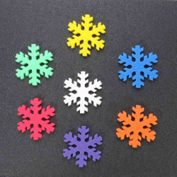 8497 Dekorace sněhové vločky