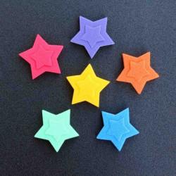 8490 Dekorace hvězdičky 5*