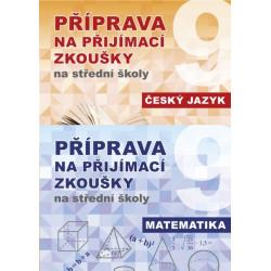 99-6121 Sada - Příprava na přijímací zkoušky na střední školy ČJ + MA