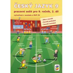0957 Český jazyk 9, 2. díl (pracovní sešit)