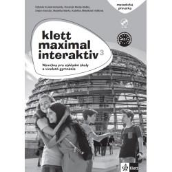 14131 Klett Maximal interaktiv 3 (A2.1) – metodická příručka s DVD