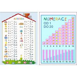 154101 Studio 1+1 - Abeceda/+ Numerace 1-20 (karta)