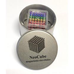 8653 NeoCube mix 6 barev – magnetická stavebnice, 216 kuliček, 5 mm